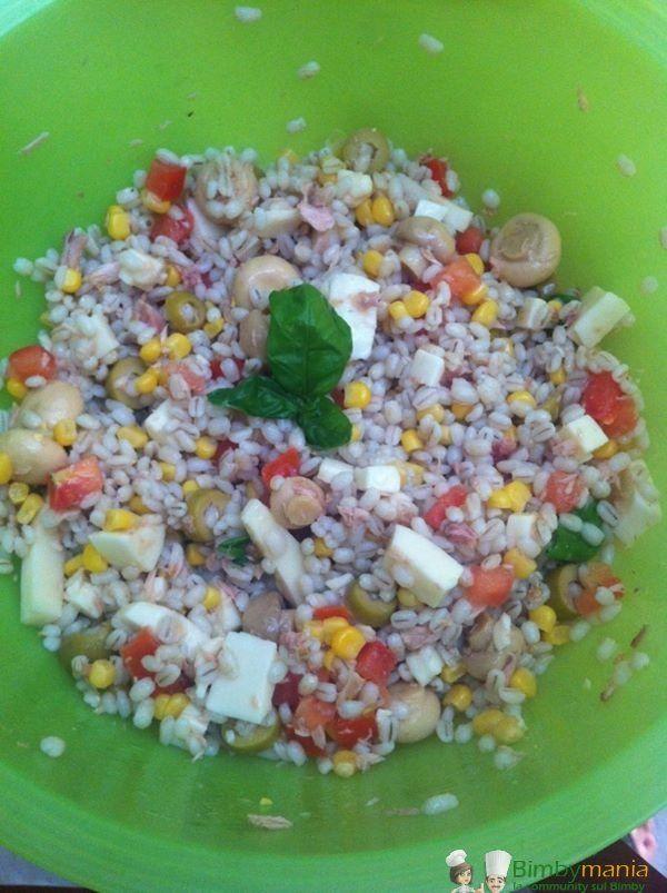 Insalata orzo perlato ricette bimby