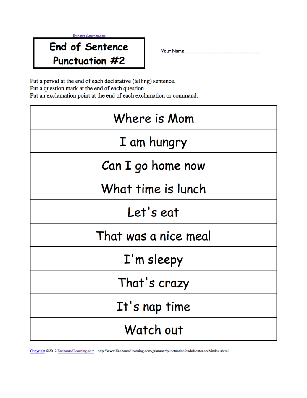 1st Grade Grammar Worksheets Education Fun Kids