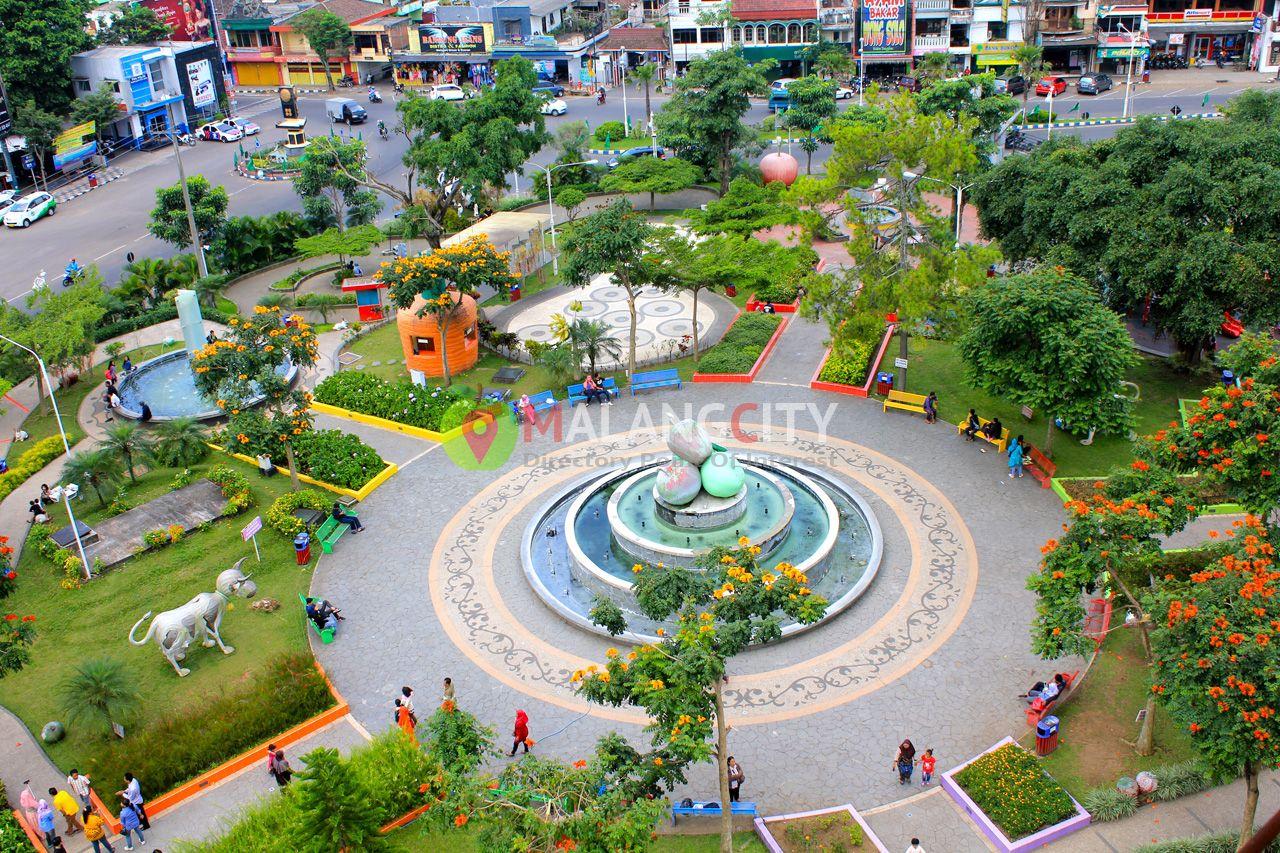 Alun Alun Kota Wisata Batu Site Plan Batu Malang
