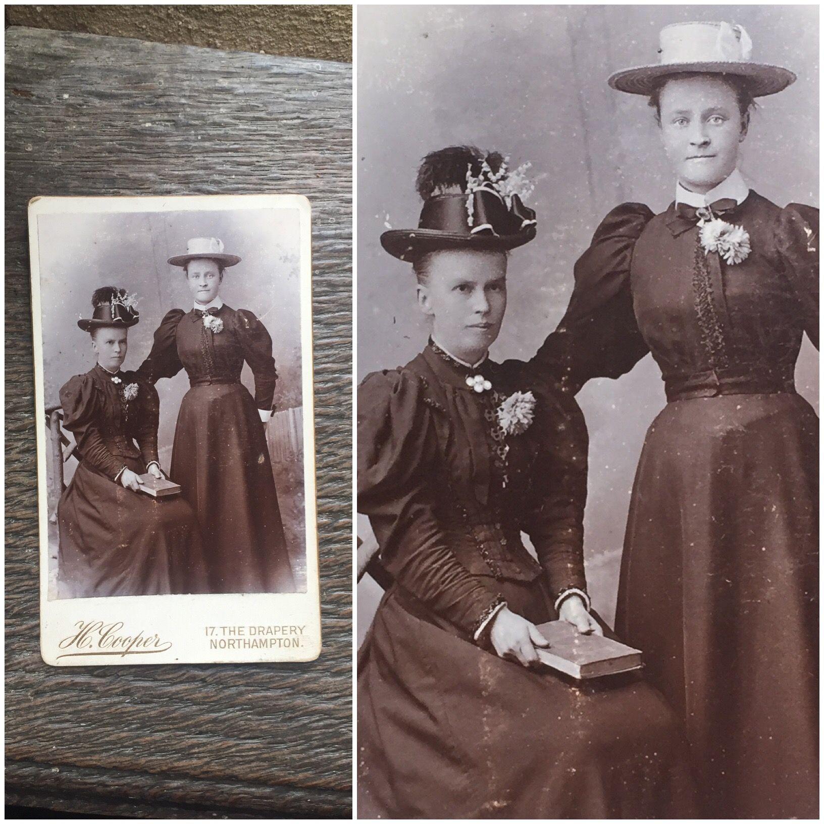 Victorian Carte De Visite Card