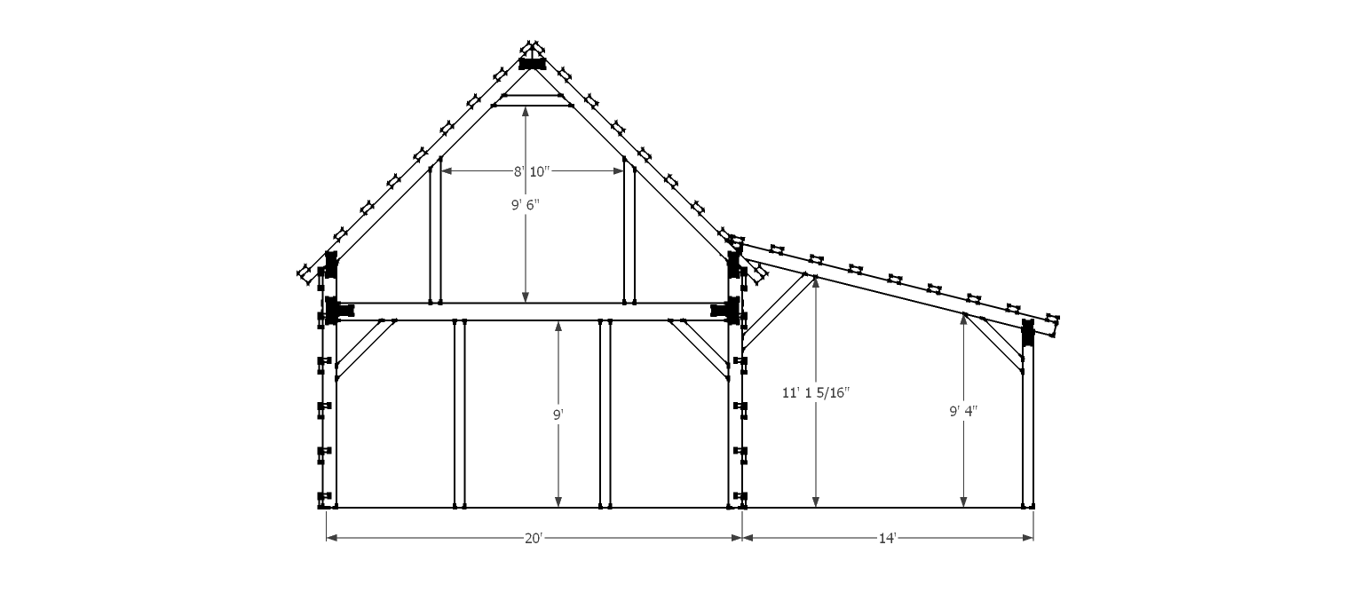 Shed Plans 20 X 40