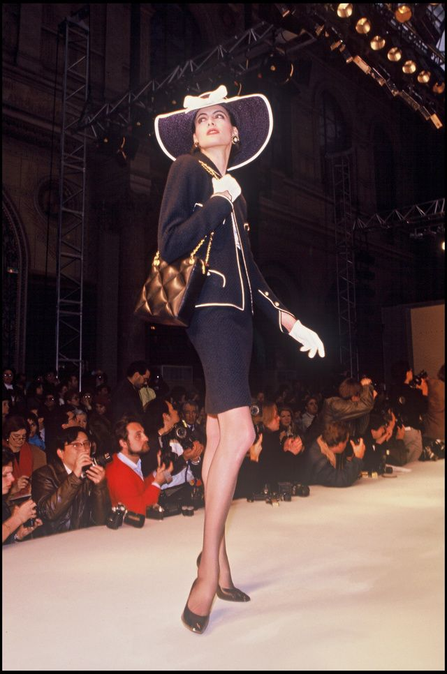 Ines de la Fressange, mannequin aux défilés Chanel | Vogue