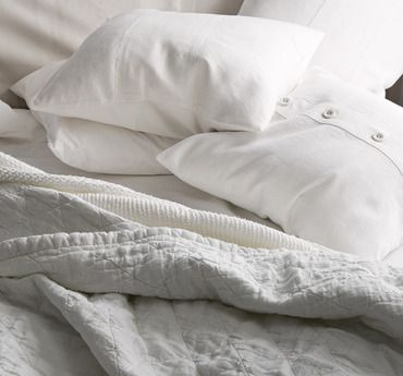 Our Favorite Winter Whites: Bedding & More
