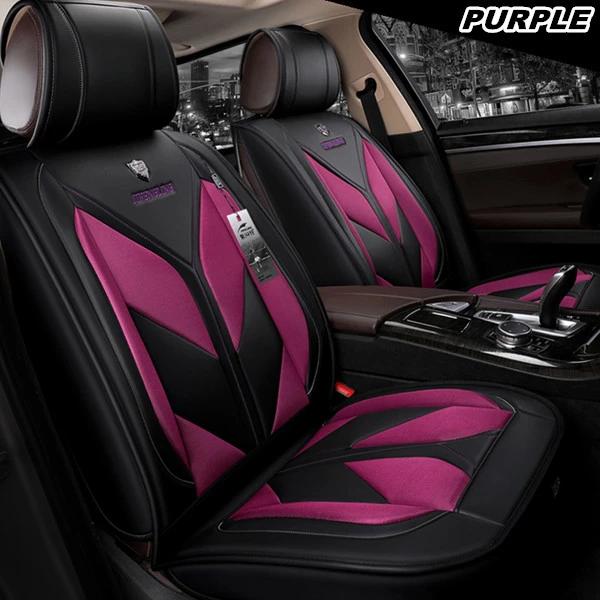 Fashion Car Seat Cover Full Set Leather Car Cushion Covers 5seats Cove Grace Lead Car Seats Leather Car Seat Covers Car Seat Cover Sets