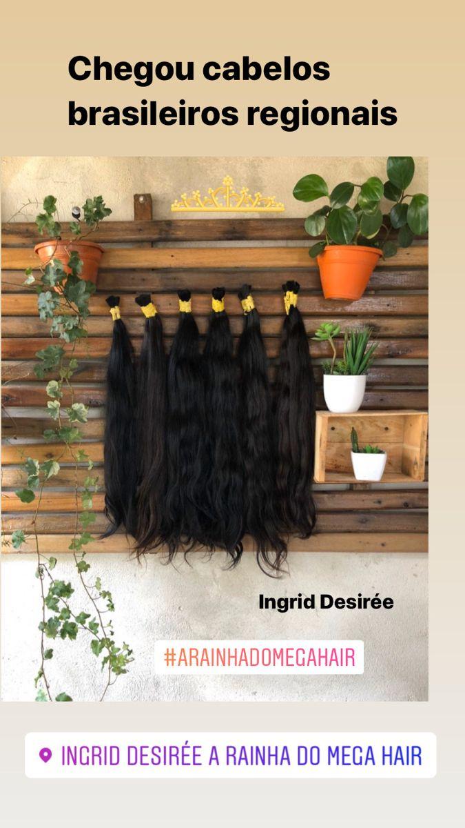 Vendemos cabelos naturais sistema remy. Melhor colocação