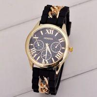 d4bd1c55d62c Famosa marca de 2.015 nuevos hombres ginebra de relojes de moda correa de  caucho de silicona relojes mujeres del reloj de cuarzo visten el reloj  Relogio