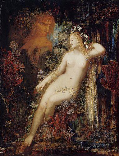 Gustave Moreau - Galatea [c.1880]