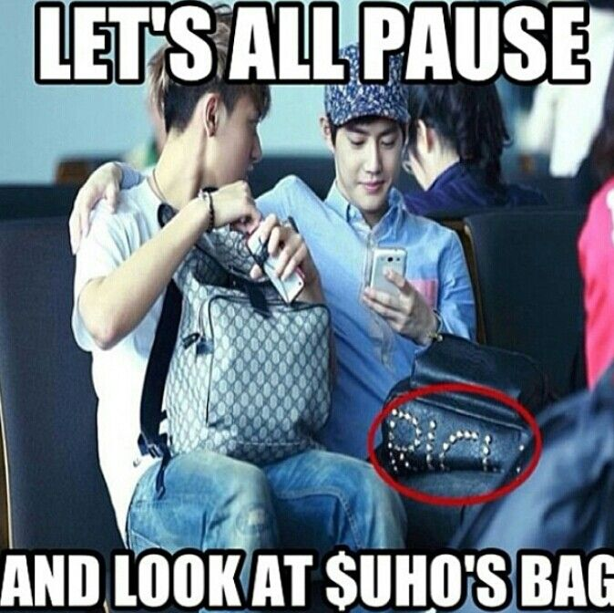 take a look lol | Exo, Kpop and Suho