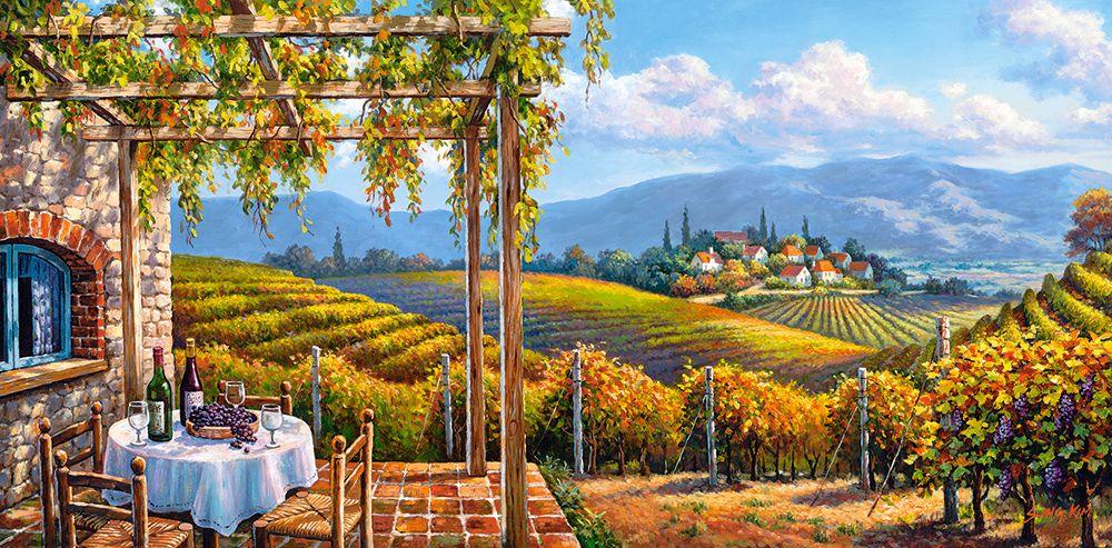 Vineyard Village - 4000pc Jigsaw Puzzle By Castorland