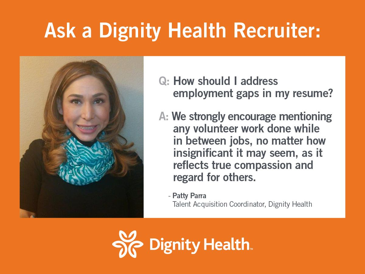 Our talent acquisition coordinator shares how to address