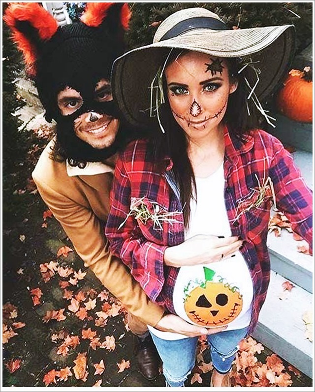 Einfache Kostüme Halloween