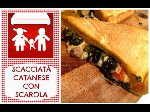 Scacciata Catanese con scarola (Catania-Palermo andata e ritorno) 2C+K - YouTube