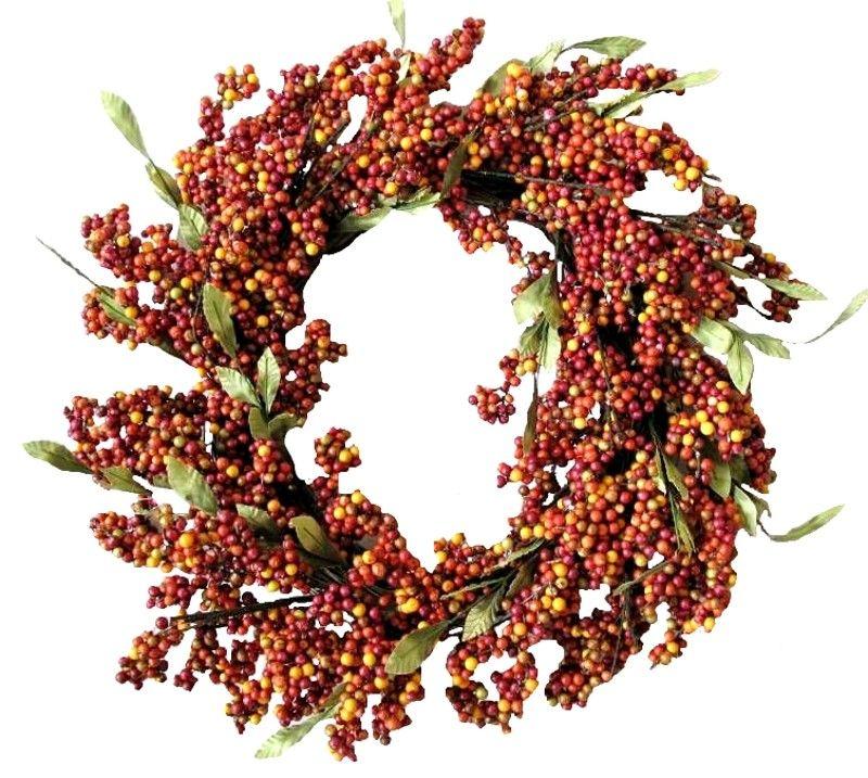 "24"" Soft Berry Wreath"