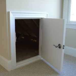 Crawl Space Doors For Crawl Spaces And Attics Doors Make All The Difference Closet Remodel Crawl Space Door Small Doors