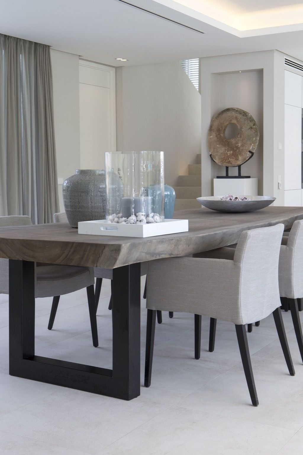 48 Elegant Modern Dining Table Design Ideas Homyhomee