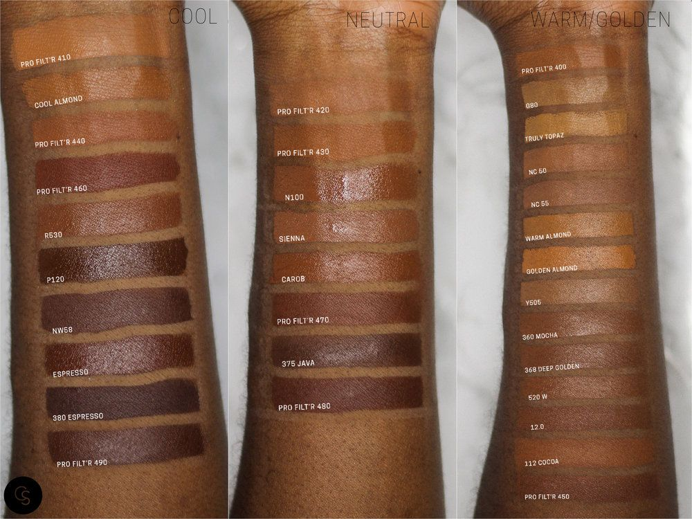 Fenty Foundation Swatches When I Wake Up In My Makeup