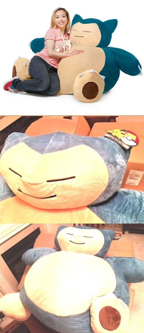 Pok Mon 1524 Snorlax Bean Bag Chair New
