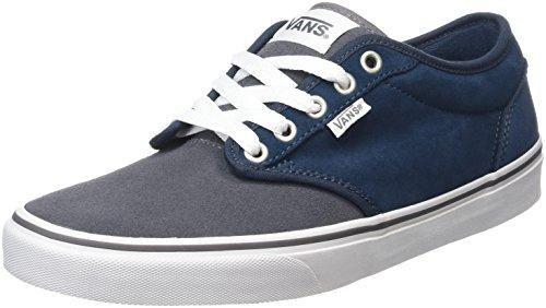 Vans - Zapatillas de baloncesto de Lona para niña, color azul, talla 38.5 EU