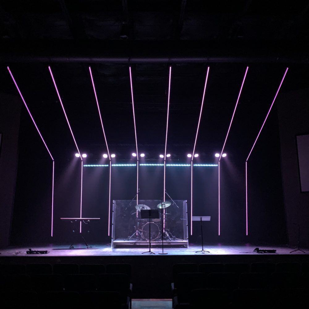 Closed Over Me Church Stage Design Stage Lighting Design Stage