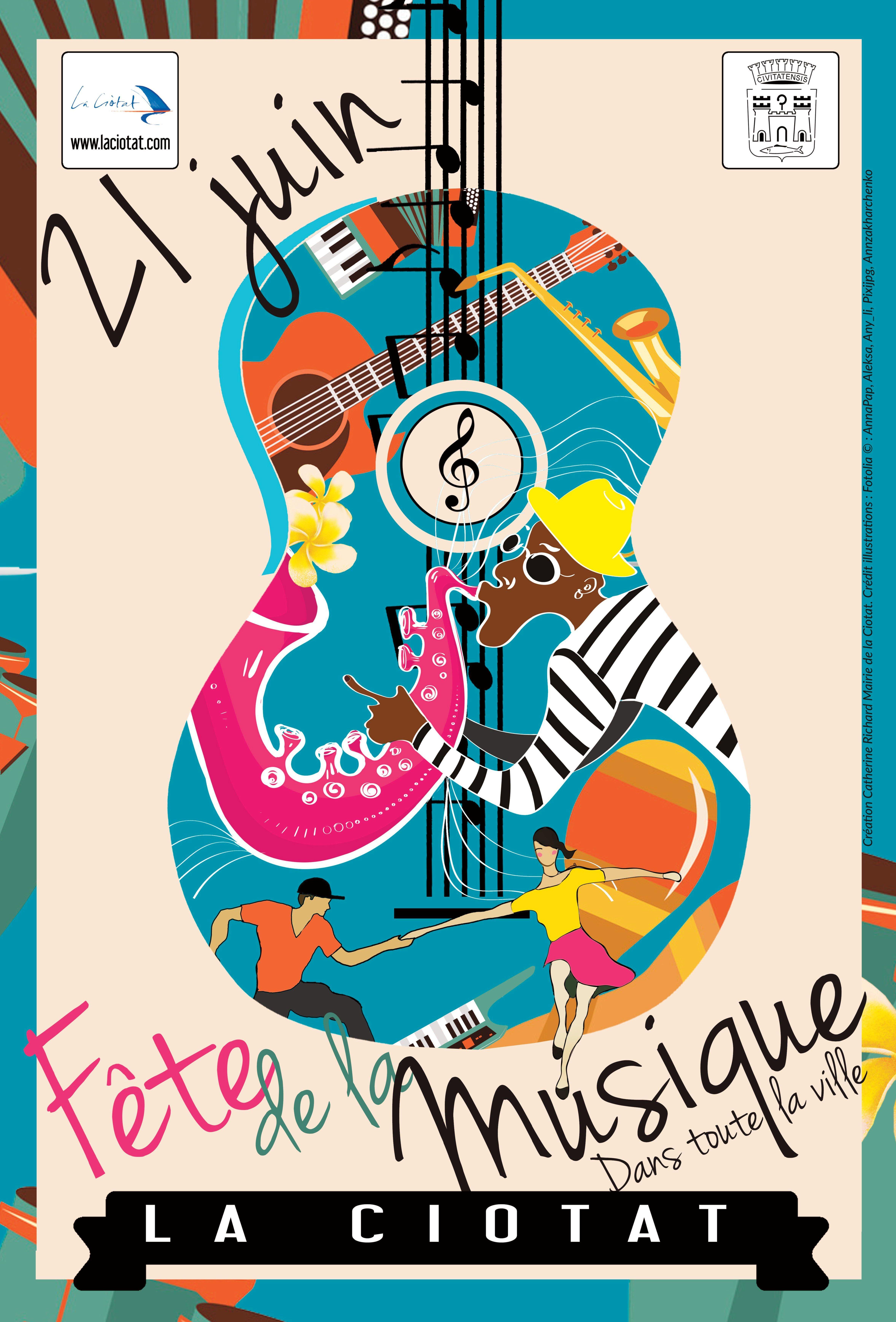 Fete De La Musique 2016 Nancy : musique, nancy, Programme, Fête, Musique, Ciotat, Musique,, Affiche, Affiches