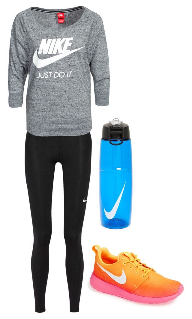 """""""Untitled #885"""" by sarah6623 ❤ liked on Polyvore featuring NIKE"""