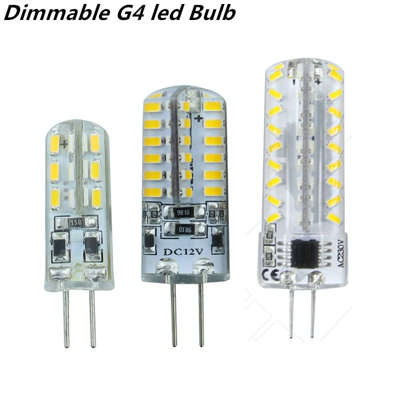2015 New Dimmable G4 Led Bulb Lamp High Power Smd3014 3w 5w 6w 12v 220v Replace 10w 30w Halogen Lamp 360beam Angle Led Lamp In Led Bulbs Led Lampara Llevamos