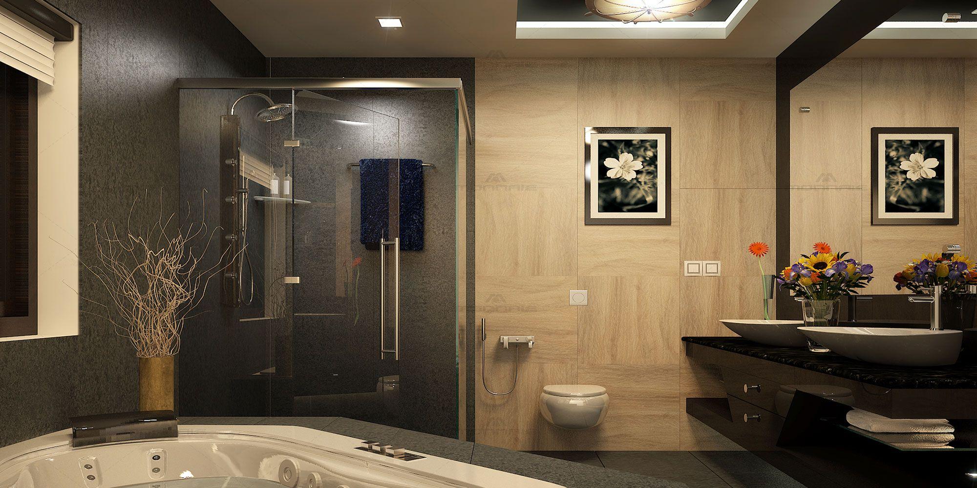 D'life home interiors - kottayam kottayam kerala monnaie architects and interior designers provides low cost bathroom