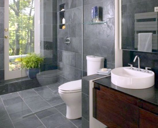 Small bathroom tile ideas bathroom tile for tiny space for Creative bathroom designs for small spaces