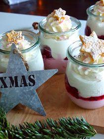 diezuckerb ckerei himbeer mascarpone dessert zu weihnachten gesunde desserts pinterest. Black Bedroom Furniture Sets. Home Design Ideas