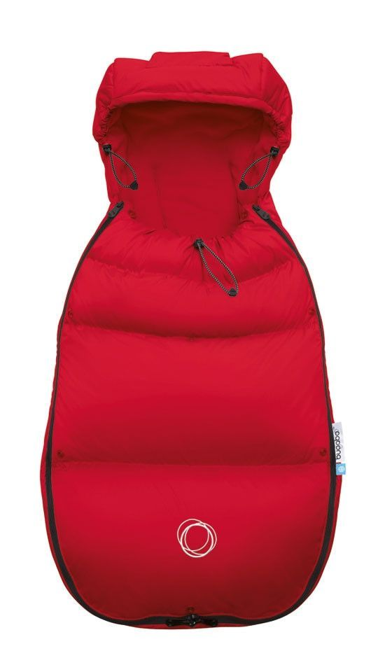 Bugaboo High Performance Footmuff - Red - Fits All Bugaboo Strollers