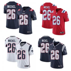 Men S New England Patriots 26 Sony Michel Stitched Jersey In 2020 Nfl Jerseys Men Jersey New England Patriots