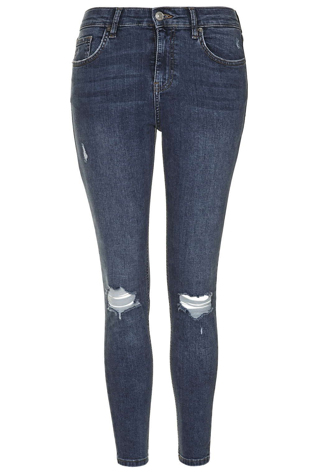 723db4ed27d PETITE MOTO Ripped Jamie Jeans - Topshop USA | READY TO WEAR | Jeans ...