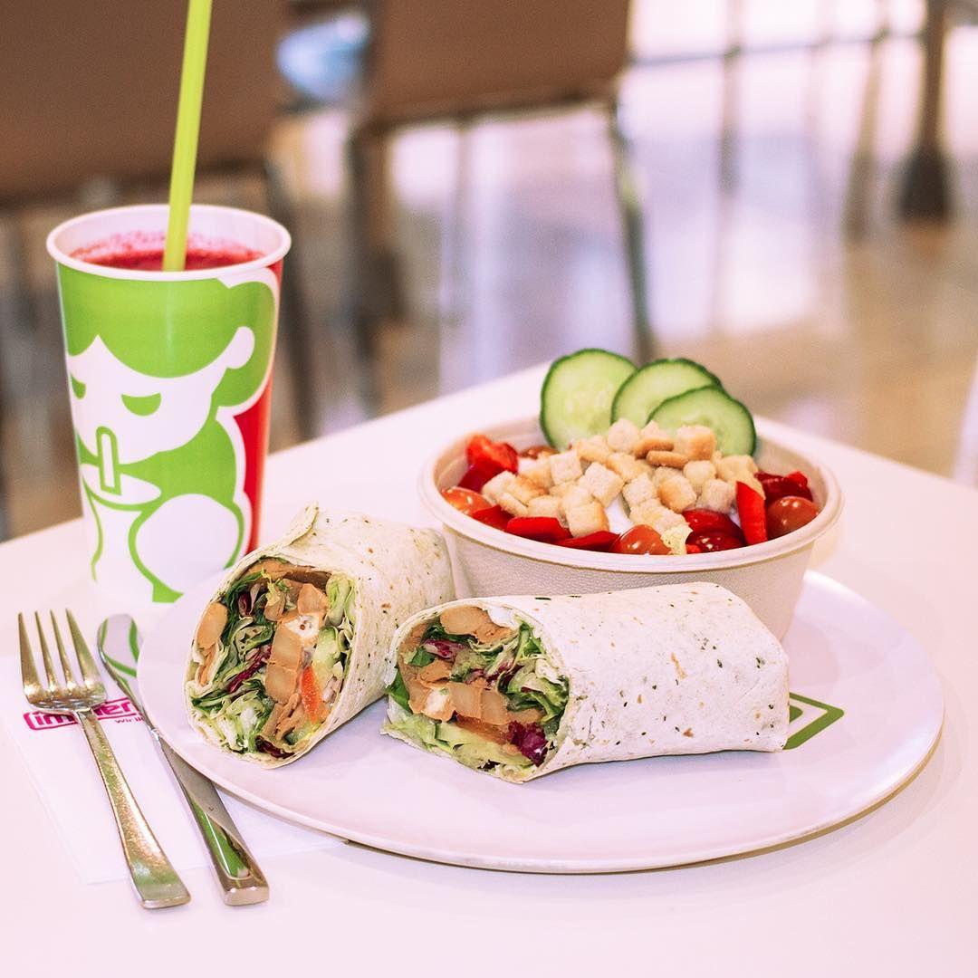 Wir Haben Uns Gerade Einen Frischen Wrap Zum Mittag Gegonnt Dazu Einen Knackigen Salat Und Den Superfrischen Beerenstur Dortmund Instagram Instagram Posts