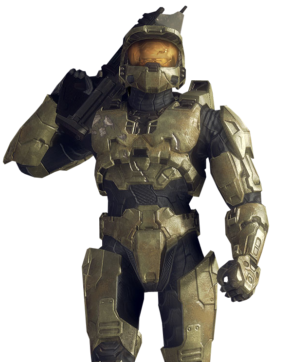 Master Chief Reference For Bust Video Game Characters Game Character Video Game