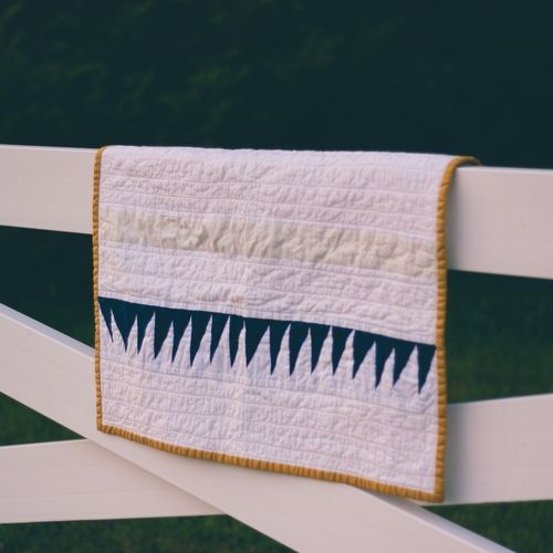 St. Mary Quilt - Modern Quilts - Fort Cotton Quilt Co.