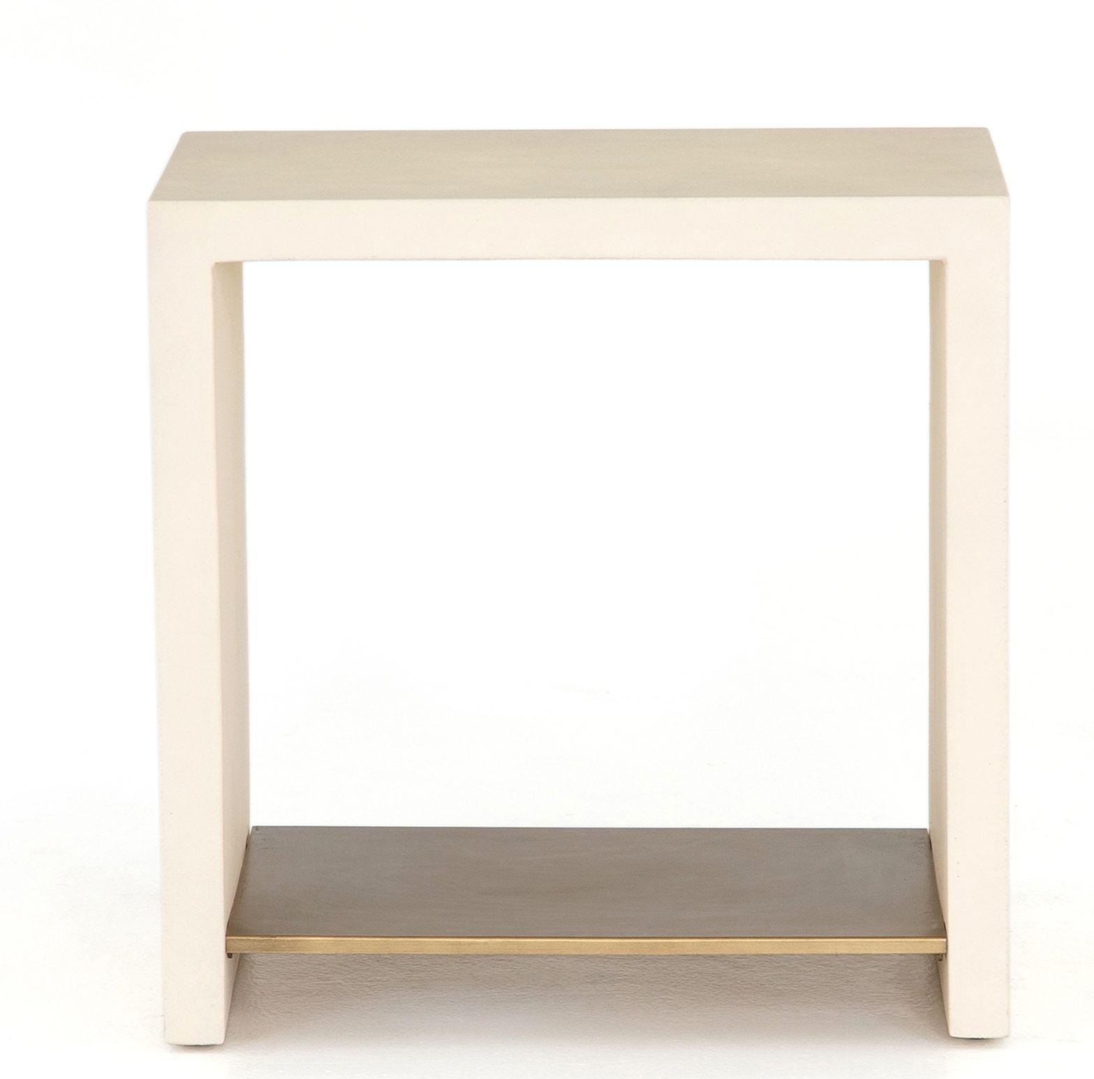 Aprilette Side Table End Tables Bottom Shelf Velvet Furniture [ 1545 x 1567 Pixel ]