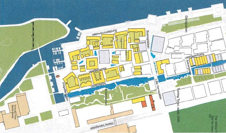 Ecological city districts in Malmo Bo01, Bo02 (Flagghusen), Bo03 - village expo portet sur garonn