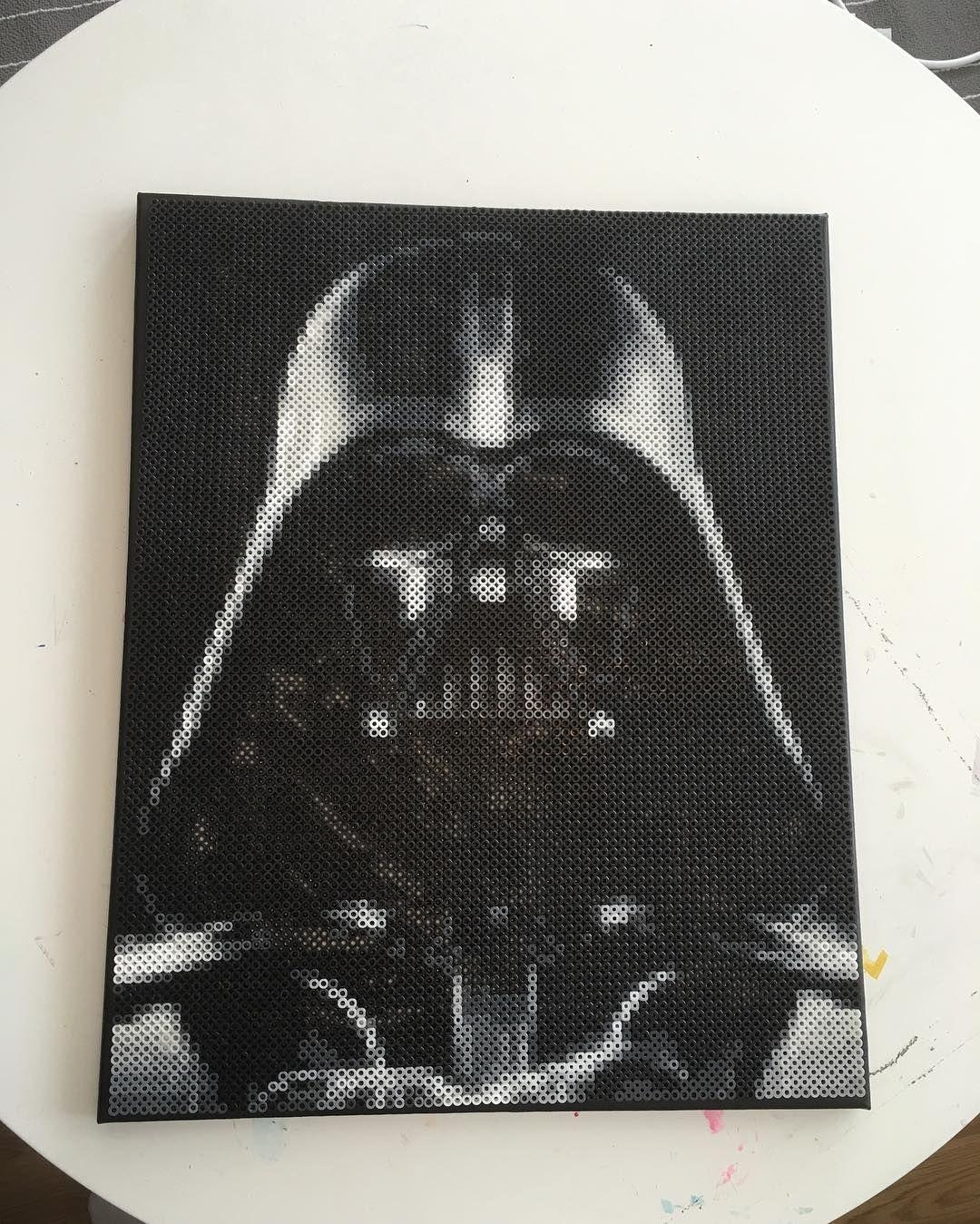 Perler Beads Star Wars Darth Vader Stormtrooper Obi Wan Kenobi