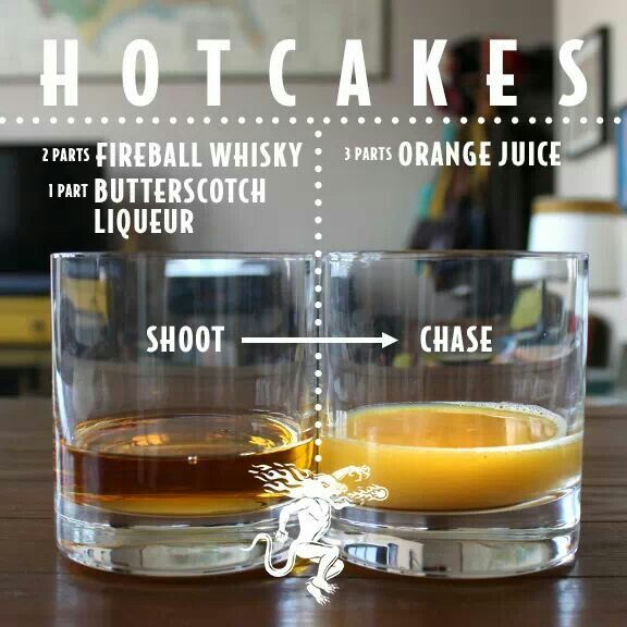 Hotcakes Shot