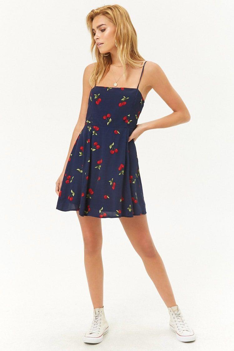 3e5e4dc9d7 Cherry Cami Fit & Flare Dress | My dream wardrobe | Fit flare dress ...