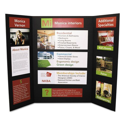 give your presentations the professional edge perfect for school projects science fairs and business presentations lightweight foam display board is
