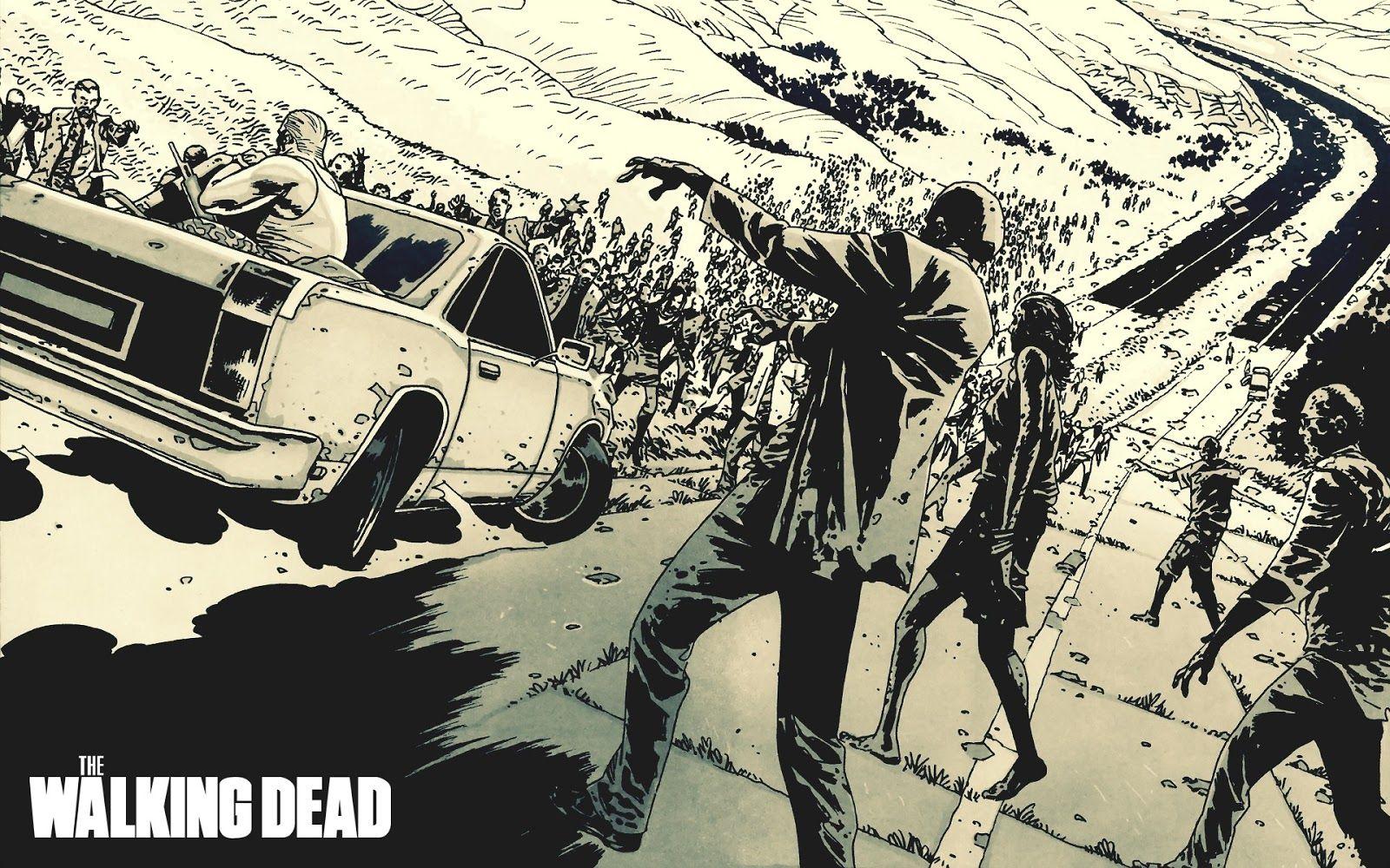 The Walking Dead Wallpaper Zombie Wallpaper Walking Dead