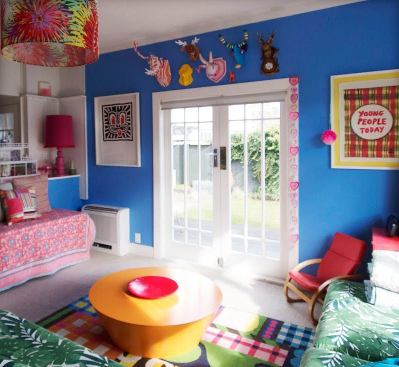 Alex Fulton's Flirtatious Use of Crazy Color | Apartment Therapy