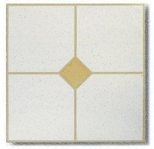 45 Pieces 12x12 Vinyl Stick On Tiles With Beige Single Diamond Self Adhesive Flooring Rt4041 By Trademark 39 99 Tra Stick On Tiles Vinyl Tile Adhesive Tiles