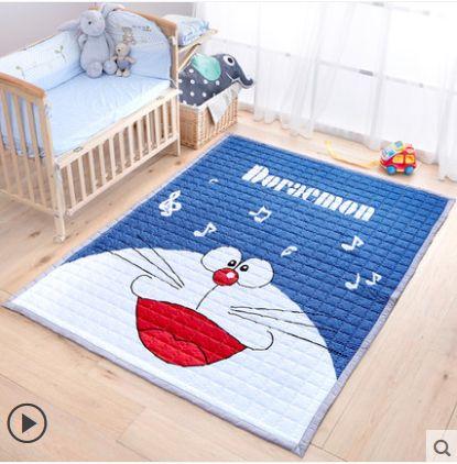 Kingart Cotton Cartoon Big Living Room Newborn Carpet Children Floor