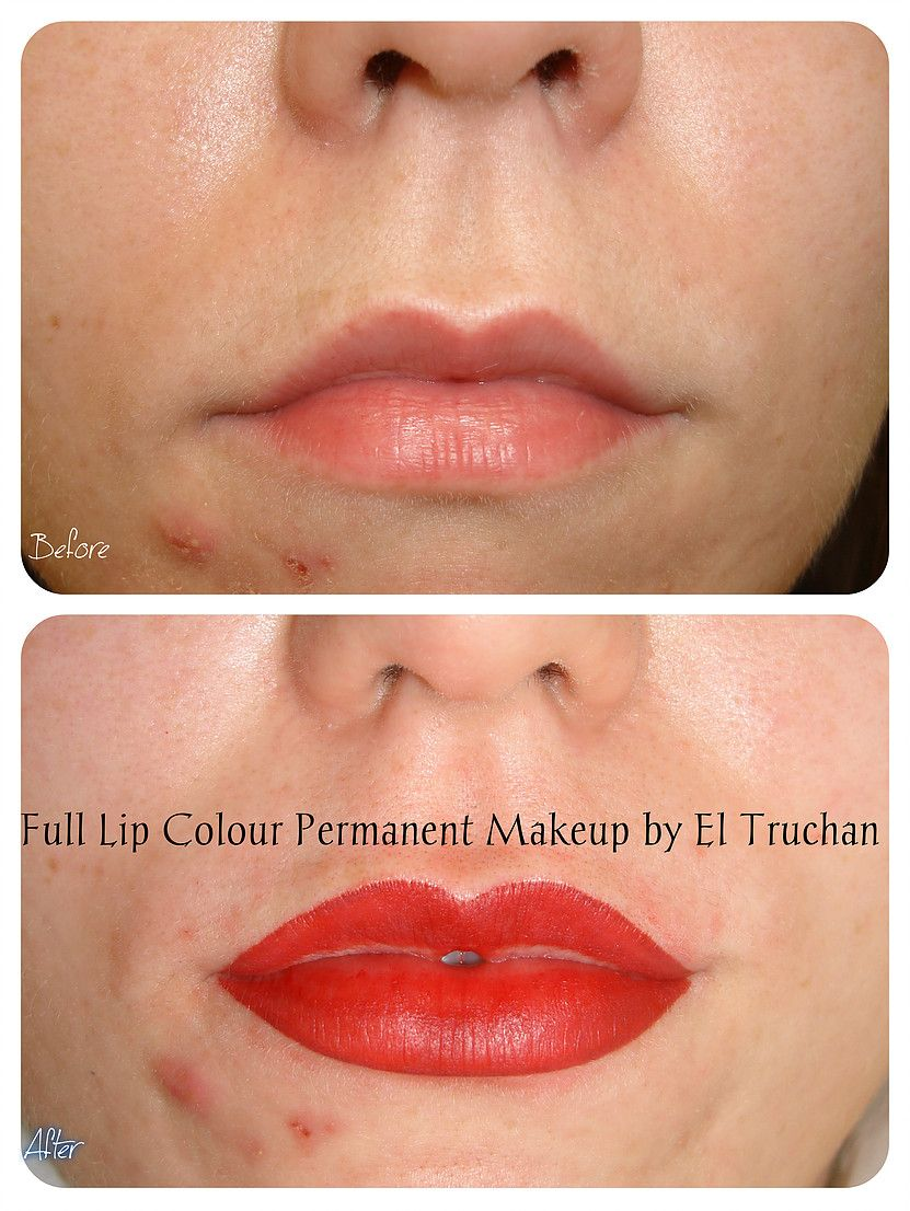Pin by Heidi Wooley on Permanent makeup Lip permanent