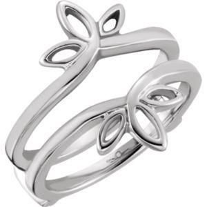 4023 / 14KW / RING GUARD / P / ALL METAL RING GUARD.. #14kt #rose #gold #diamond #bridal #engagement #wedding #ring #fashion #jewelry #jewelryring #diamondring #engagementring #fashionring #lovely #Ringguard #Warp #Enhancer #Ringjacket