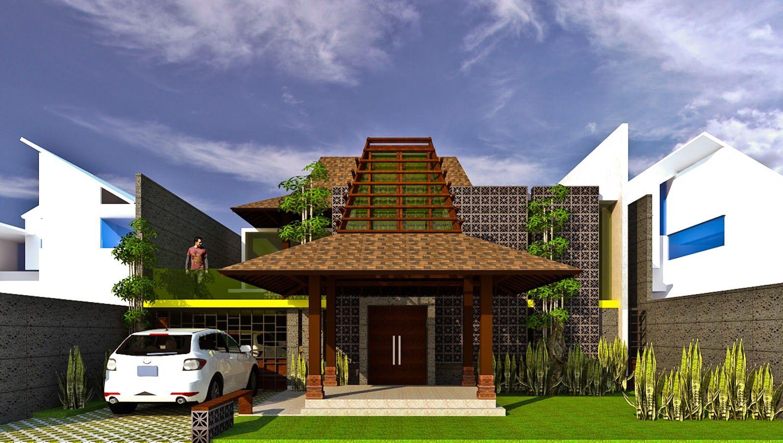 45 Desain Rumah Joglo Khas Jawa Tengah Desainrumahnya Com Tips