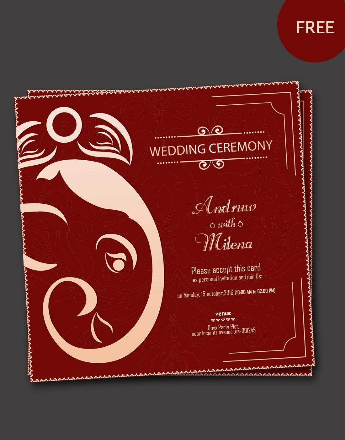 wedding kankotri templates | Indian wedding invitation cards, Hindu wedding  invitations, Christmas card template