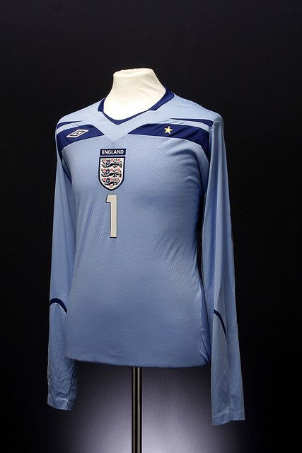 England Football Shirt Goalkeepers Away 2008 2010 With Images England Football Shirt